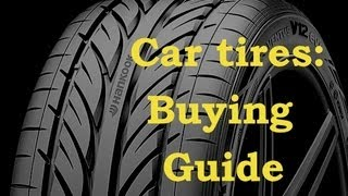 Car Tires-Buying Guide