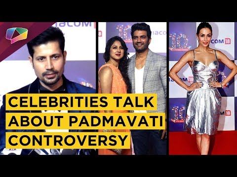 ACTORS SHARE THEIR OPINION ON PADMAVATI CONTROVERS