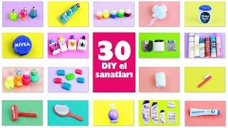 Video DIY | Barbie Bebek  için  Banyo Minyatür Ürünleri nasıl yapılır? 30+ diy Kendin Yap MP3, 3GP, MP4, WEBM, AVI, FLV November 2017