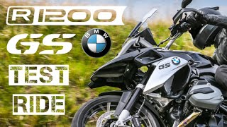 6. 2016 BMW R1200 GS TE Triple Black Test Ride