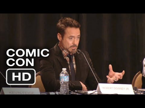 Iron Man 3 Comic Con Panel and Interviews (2012) - HD Movie Video