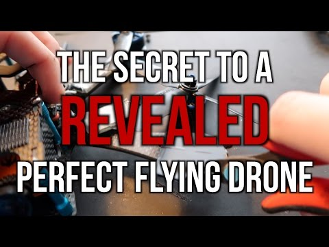 The Secret to a Perfect Flying Drone (soft mounting motors)