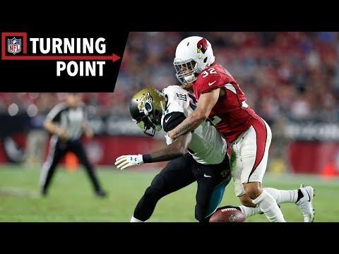 Video: Tyrann Mathieu's Badger-Like Instincts Shut Down the Jaguars (Week 12) | NFL Turning Point