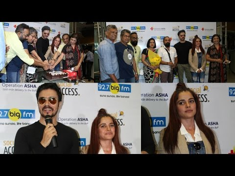 Pia Bajpai & Darshan Kumaar At Launch Tb Awareness Campaign