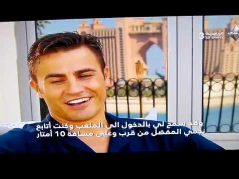 Un día con Cannavaro en Dubai