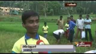 Namakkal Govt. school selected by UNESCO for submitting thesis on cultivation of rice
