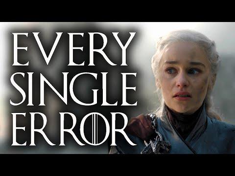 Every error in Game of Thrones Season 8
