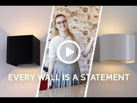 V-TAC Vlog Episode 4: Our Stylish Wall Lights