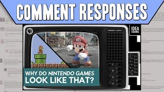 Comment Responses: Why Do Nintendo Games Look Like That? by PBS Idea Channel