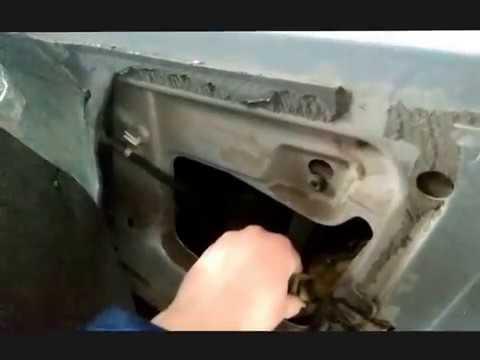 ремонт ручки открывания двери шкода октавия тур