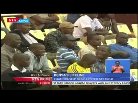 KTN Prime: Kenya U-23 volley ball team beats Senegal, 25th October 2016