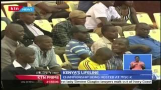 KTN Prime: Kenya U-23 Volley Ball Team Beats Senegal, 25th October 2016
