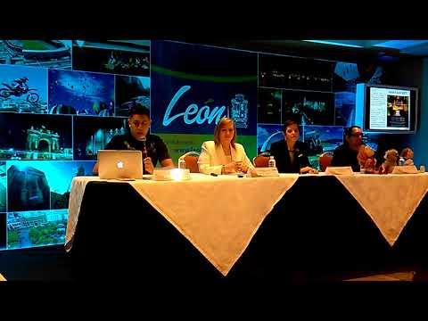 Conferencia de Prensa de los Eventos de León en Julio