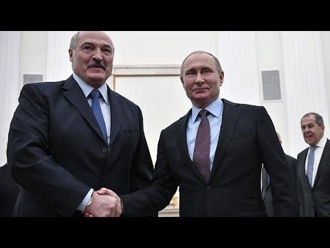 Russland: Putin trifft Lukaschenko - Besuch unter sch ...
