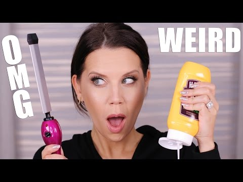 OMG ... WEIRD BEAUTY PRODUCTS