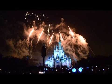 Magic Kingdom Holiday Wishes Fireworks