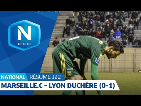 22e J. National | Résumé GS Marseille Consolat - Lyon Duchère AS (0-1)