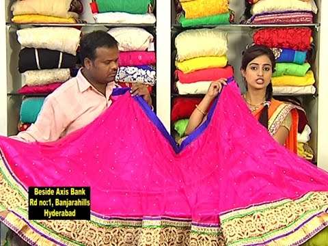 Latest New Look Half Sarees With Price