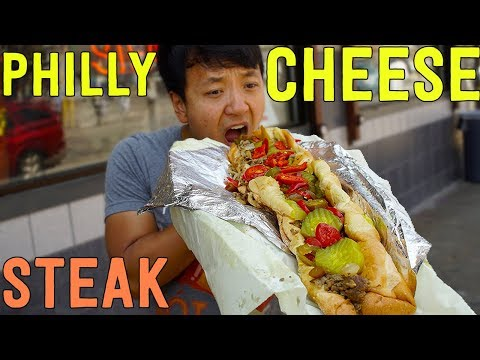 BEST CHEESESTEAK Sandwich in Philadelphia! Philly Cheesesteak Tour