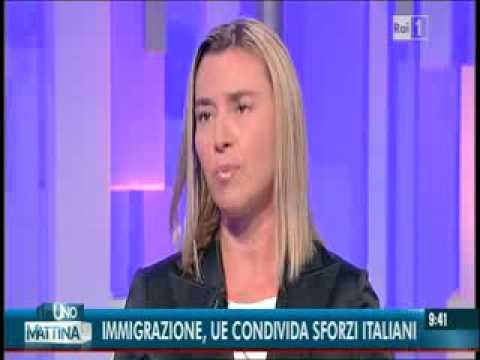 Il Ministro Mogherini a UNOMATTINA