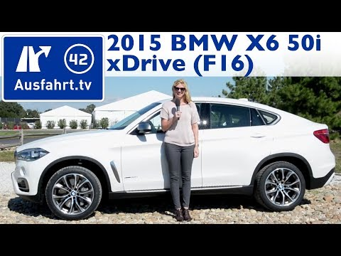 2015 BMW X6 F16 xDrive50i V8 – Fahrbericht – Test – Review – German – Deutsch
