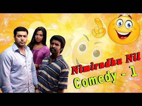 Nimirnthu Nil Tamil Movie Comedy Scenes | Part 1 | Jayam Ravi | Amala Paul