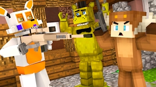 Five Nights At Freddy's - SEARCH FOR GOLDEN FREDDY! (Minecraft Roleplay) S2 Episode 12