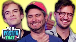 Video h3h3, Jacksfilms, and Elliott Morgan | You Posted That? MP3, 3GP, MP4, WEBM, AVI, FLV Maret 2018