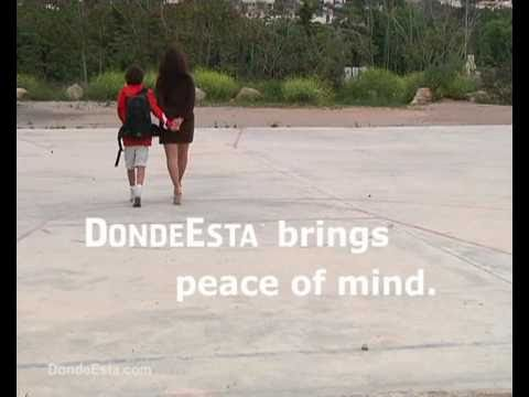 Video of dondeEsta (SMS version)