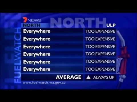 TVW Seven News Perth - Fuel Watch mock (April 25, 2008)