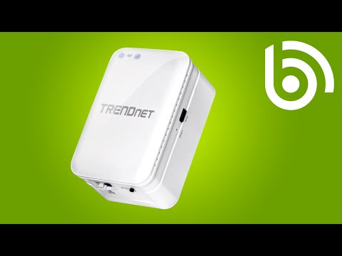 TRENDnet TEW-817DTR AC750 WiFi Travel Router