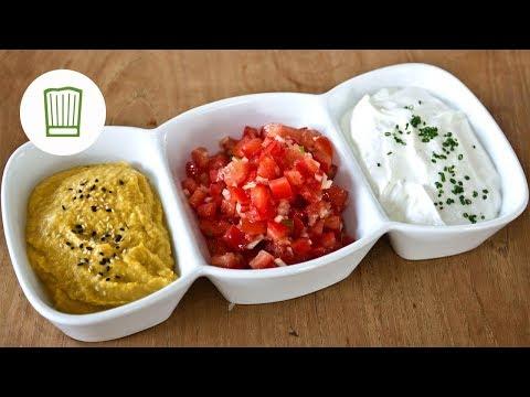 Beilagen - Dips zum Grillen für Fleisch, Fisch und Gemüse #chefkoch