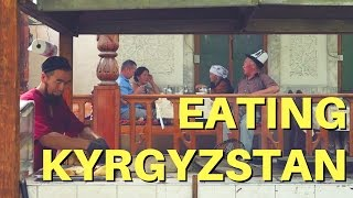 During one of our last days in Bishkek, Kyrgyzstan we revisited one of our favorite restaurants in the city to eat traditional Kyrgyz...