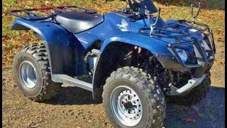 6. 2008 Honda Recon ES ATV, 2WD 4-wheeler  FOR SALE