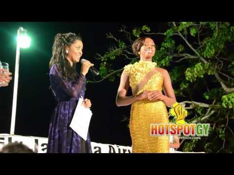 Miss Guyana Universe Q&A Segment
