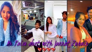 Duets with Jannat zubair and Mr Faisu latest tik tok videos