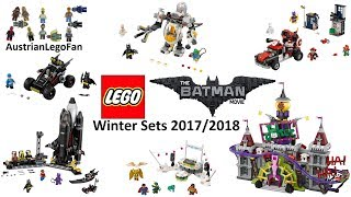 Nonton All Lego Batman Movie Winter Sets 2017 / 2018 - Lego Speed Build Review Film Subtitle Indonesia Streaming Movie Download