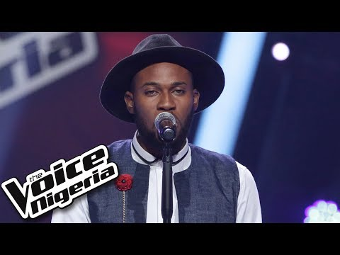 "Kelvin Audu Sings ""Take A Bow"" / Blind Auditions / The Voice Nigeria Season 2"
