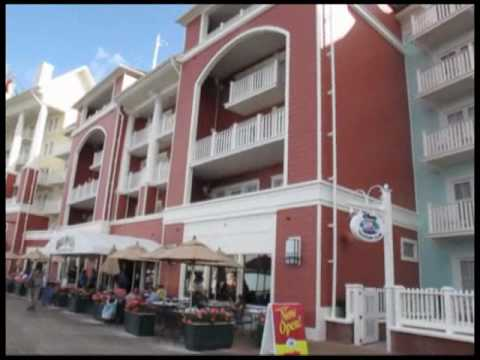 Disney World Hotels-The Boardwalk Hotel in Disney World.wmv