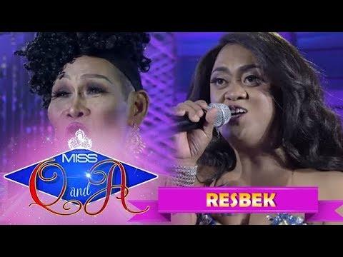 It's Showtime Miss Q & A Resbek: Angelika Mapanganib vs. Queen Isabela Lopez    Di Ba? Teh! Part 2
