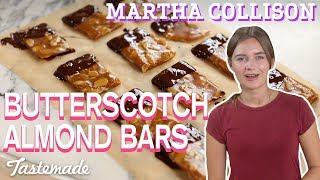 Butterscotch Almond Bars I Martha Collison by Tastemade