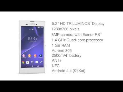 "Xperia T3 announced – 5.3"" display, quad-core 1.4GHz CPU and more [video]"