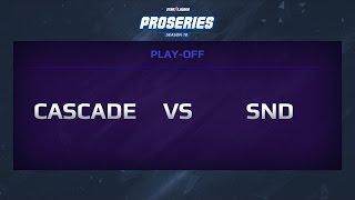 Cascade eSports vs Slice n' Dice, Game 1, proseries