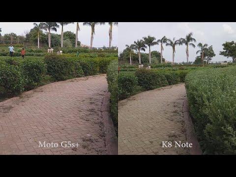 Moto G5s Plus vs Lenovo K8 Note Camera Comparison