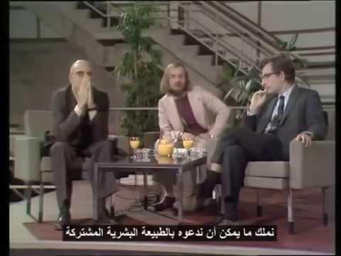 مناظرة بين عالمين هما الأشهر في القرن العشرين : ميشيل فوكو، نعوم تشومسكي