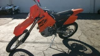 3. 2004 KTM 450 MXC USA Electric Start $2,999.00