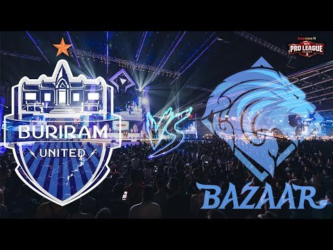 ROv Buriram United VS Bazaar Gaming วิเคราะห์ by เซียนติ g1/5