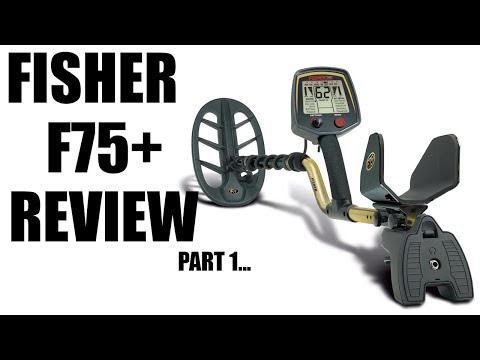 Metal Detecting:  Fisher F75+ Feature Review