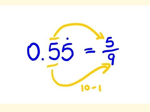 how to change a fraction to a decimal