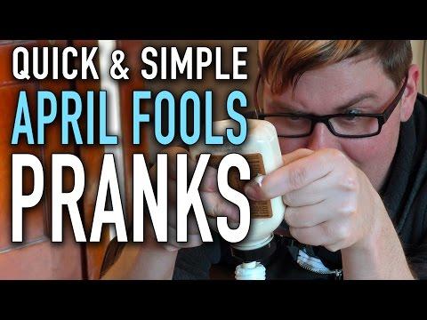 8 Quick & Simple Pranks